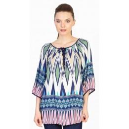 Bluza casual cu imprimeu geometric L101 R