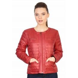 Jacheta casual scurta rosie 16331 R