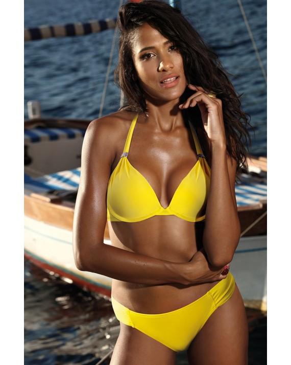 Costum de baie doua pise Jamaica Yellow