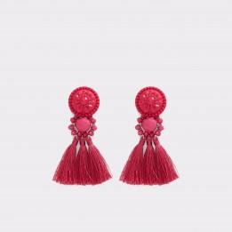 Cercei ALDO fucsia, Seaford, din material textil