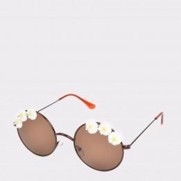 Ochelari de soare EPICA maro, 160069, din PVC