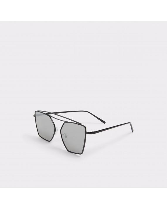 Ochelari soare ALDO negri, Wossi, din PVC