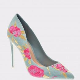 Pantofi ALDO albastri, Gosney, din material textil
