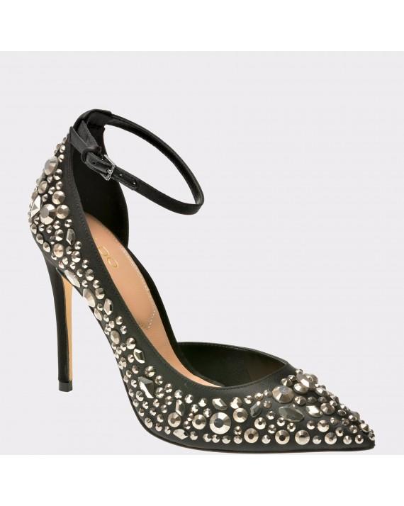 Pantofi ALDO negri, Jeroredien, din material textil