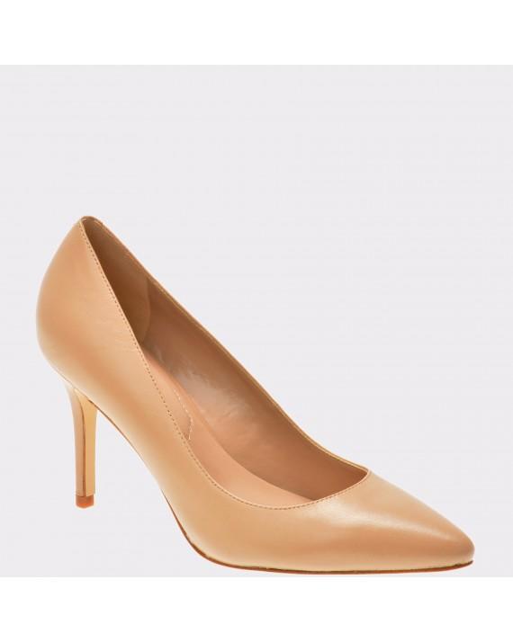 Pantofi ALDO nude, Kediredda, din piele naturala