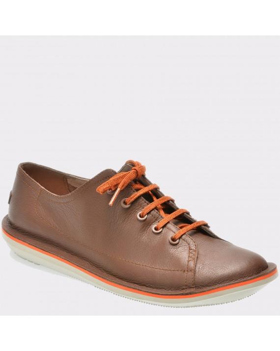Pantofi CAMPER maro, K100307, din piele naturala