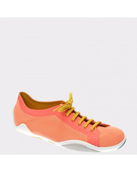 Pantofi CAMPER portocalii, K200351, din material textil