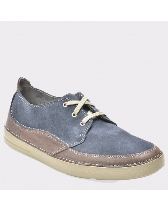 Pantofi CLARKS albastri, 6132574, din piele intoarsa