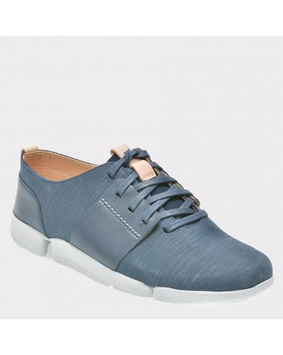 Pantofi CLARKS bleumarin, 6131797, din piele naturala