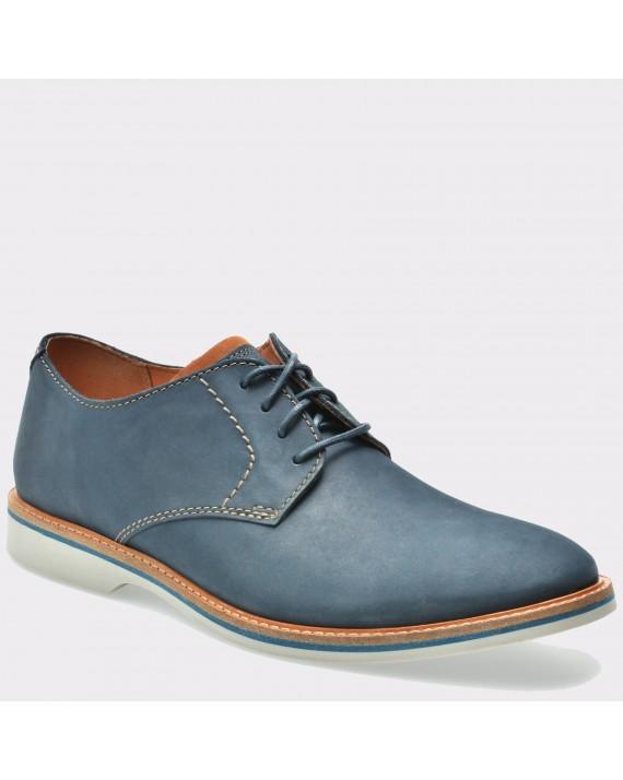 Pantofi CLARKS bleumarin, 6131819, din nabuc
