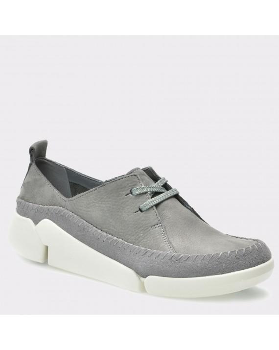 Pantofi CLARKS gri, 6115640, din nabuc