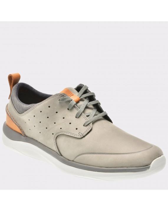 Pantofi CLARKS gri, 6132297, din nabuc