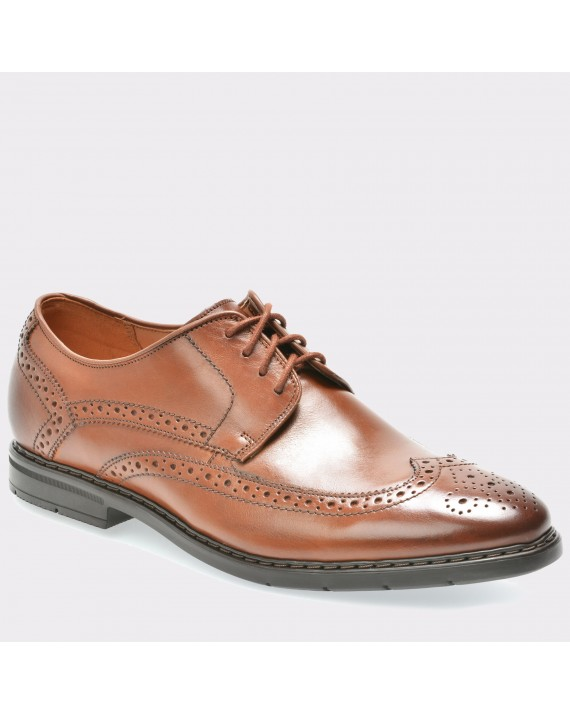 Pantofi CLARKS maro, 6132243, din piele naturala