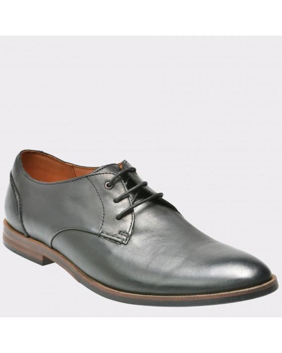 Pantofi CLARKS negri, 6123860, din piele naturala