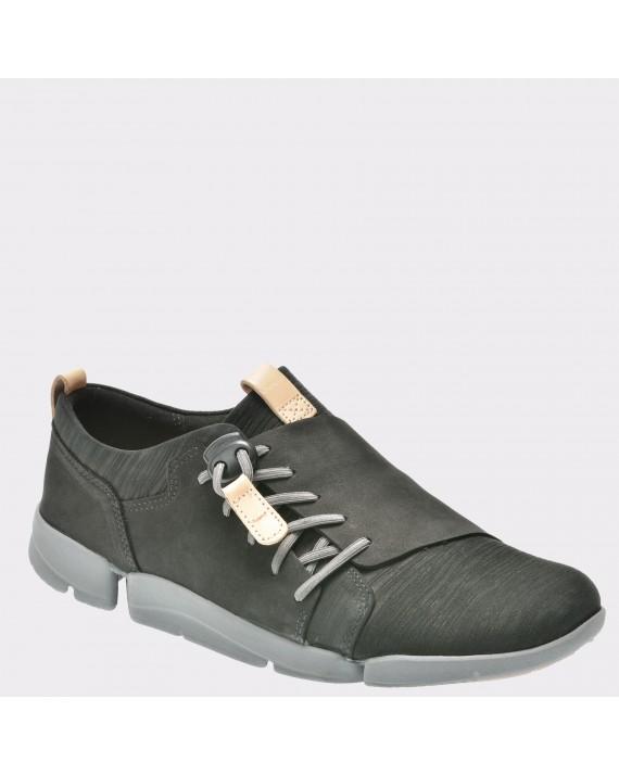 Pantofi CLARKS negri, 6131760, din nabuc