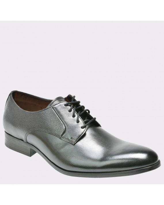 Pantofi CLARKS negri, 6133900, din piele naturala