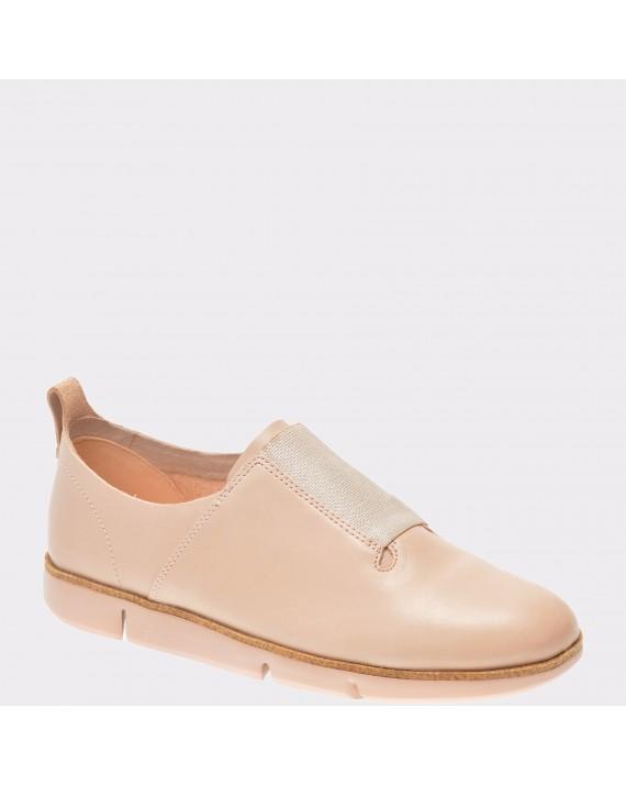 Pantofi CLARKS nude, 6132476, din piele naturala