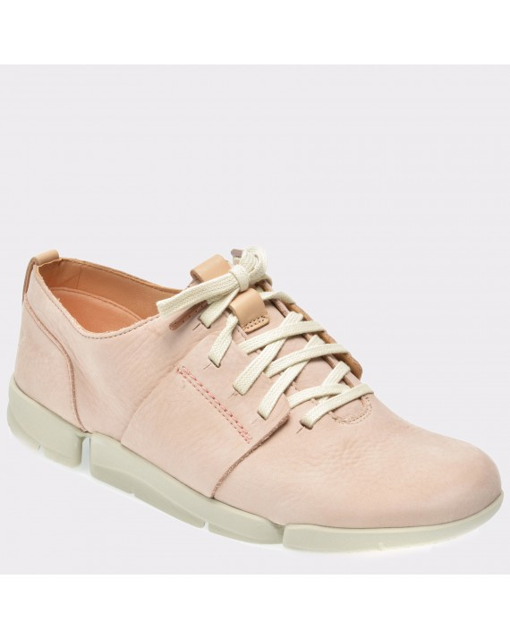 Pantofi CLARKS nude, 6133994, din nabuc