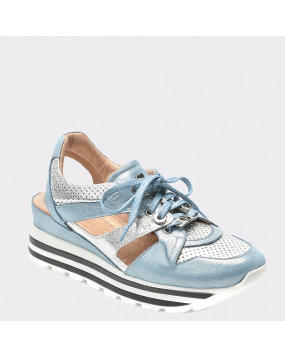 Pantofi FLAVIA PASSINI albastri, Ds0501, din piele naturala