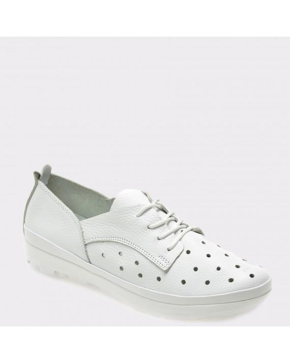 Pantofi FLAVIA PASSINI albi, 530, din piele naturala