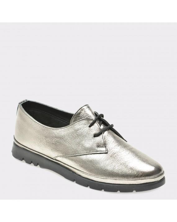 Pantofi FLAVIA PASSINI argintii, 4101, din piele naturala