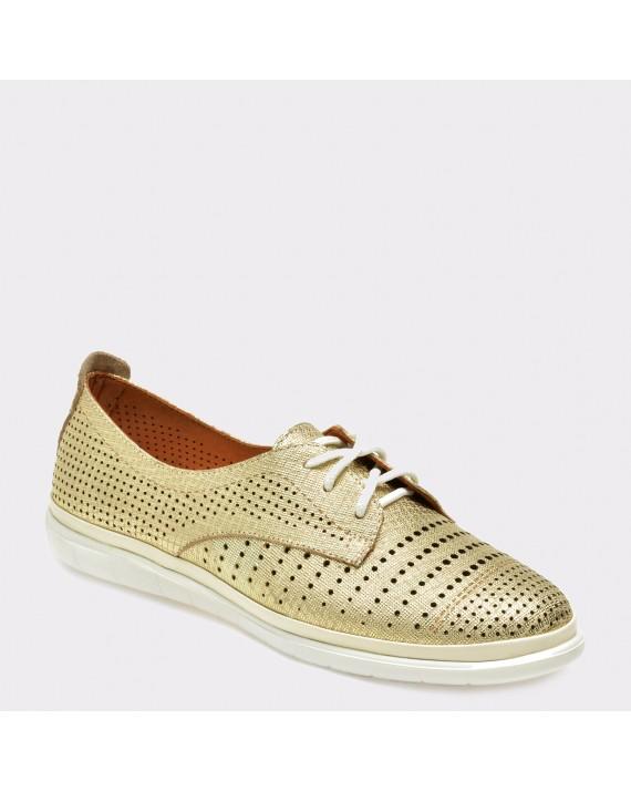 Pantofi FLAVIA PASSINI aurii, Rs300, din piele naturala