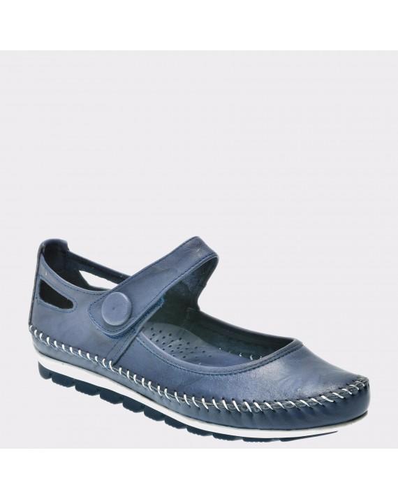 Pantofi FLAVIA PASSINI bleumarin, 121, din piele naturala
