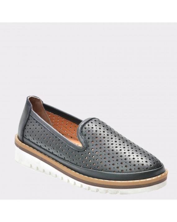 Pantofi FLAVIA PASSINI bleumarin, 402, din piele naturala