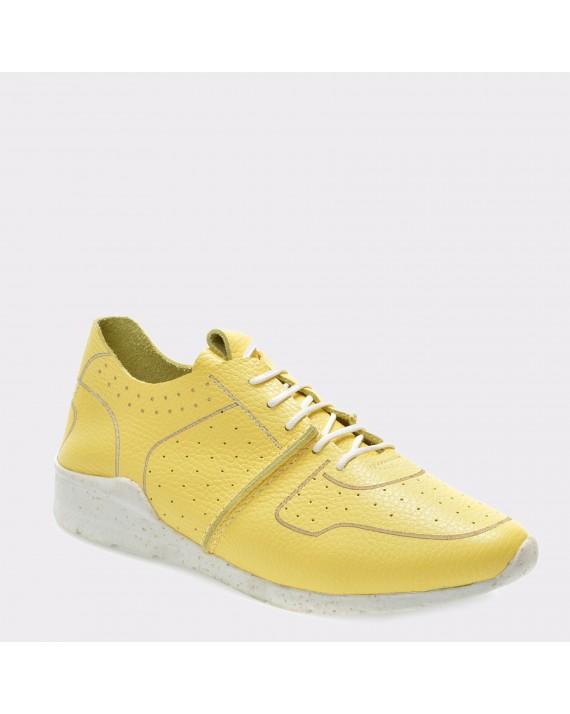 Pantofi FLAVIA PASSINI galbeni, 1Bahri, din piele naturala