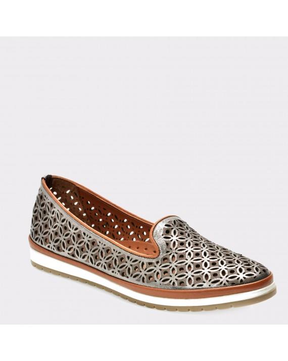 Pantofi FLAVIA PASSINI gri, 110L, din piele naturala