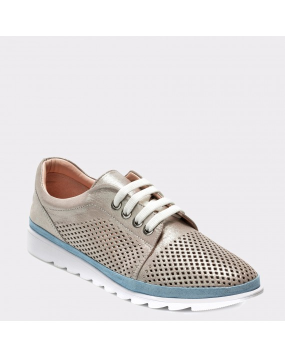 Pantofi FLAVIA PASSINI gri, 393030, din piele naturala