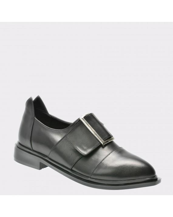 Pantofi FLAVIA PASSINI negri, 4087, din piele naturala