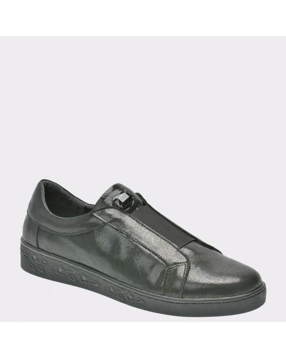 Pantofi FLAVIA PASSINI negri, Bf2107, din piele naturala
