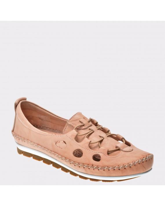 Pantofi FLAVIA PASSINI nude, 115, din piele naturala
