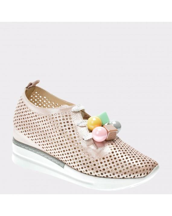 Pantofi FLAVIA PASSINI nude, 2851626, din piele naturala