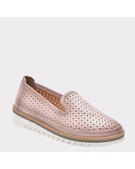 Pantofi FLAVIA PASSINI nude, 402, din piele naturala