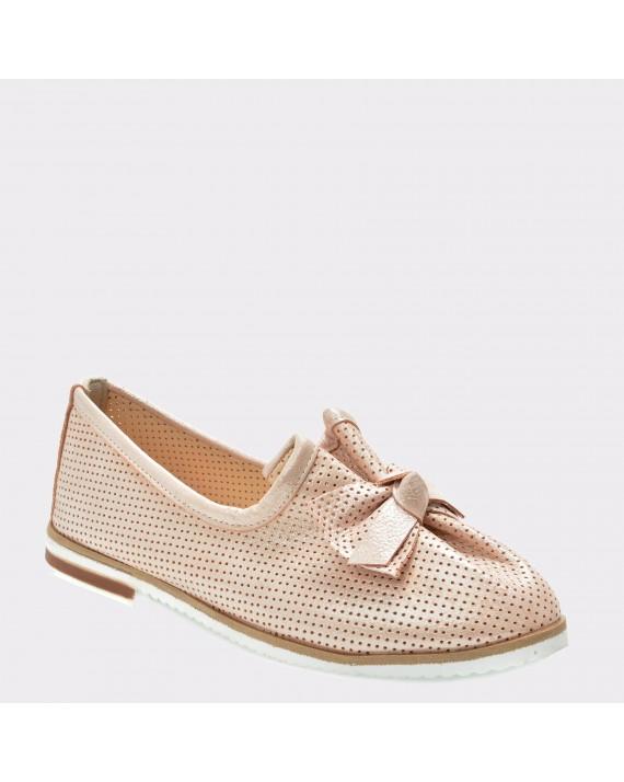 Pantofi FLAVIA PASSINI nude, 70126, din piele naturala
