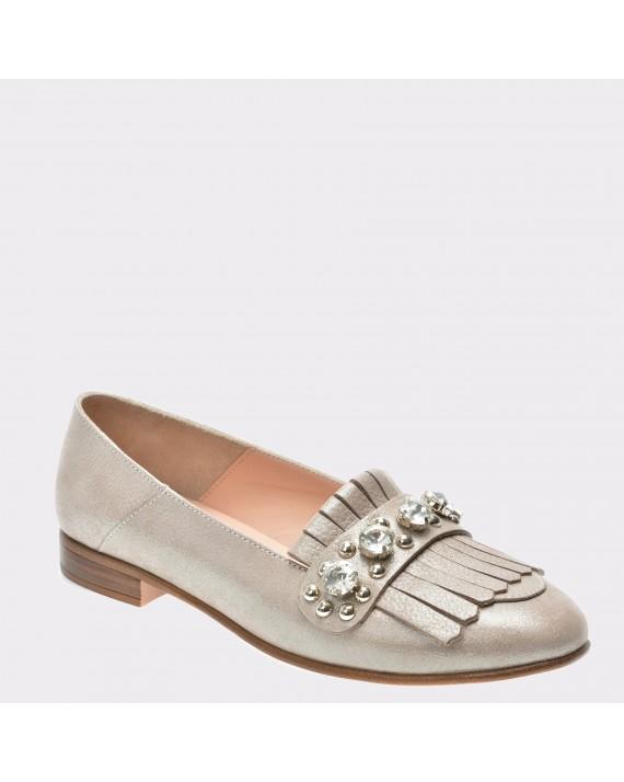 Pantofi FLAVIA PASSINI nude, Lp2506, din piele naturala