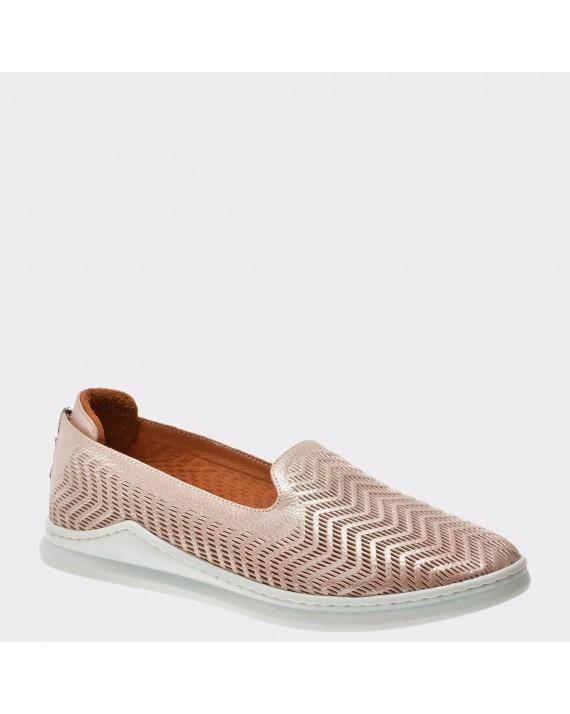 Pantofi FLAVIA PASSINI nude, Vn24124, din piele naturala
