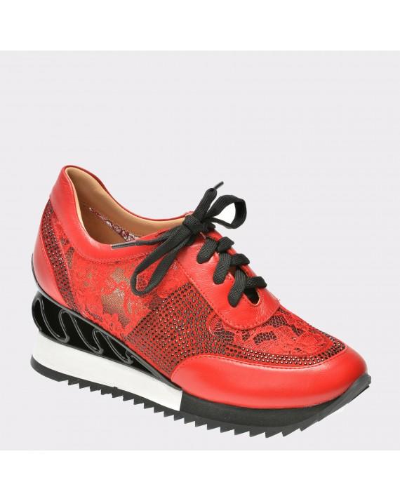 Pantofi FLAVIA PASSINI rosii, 20761, din piele ecologica