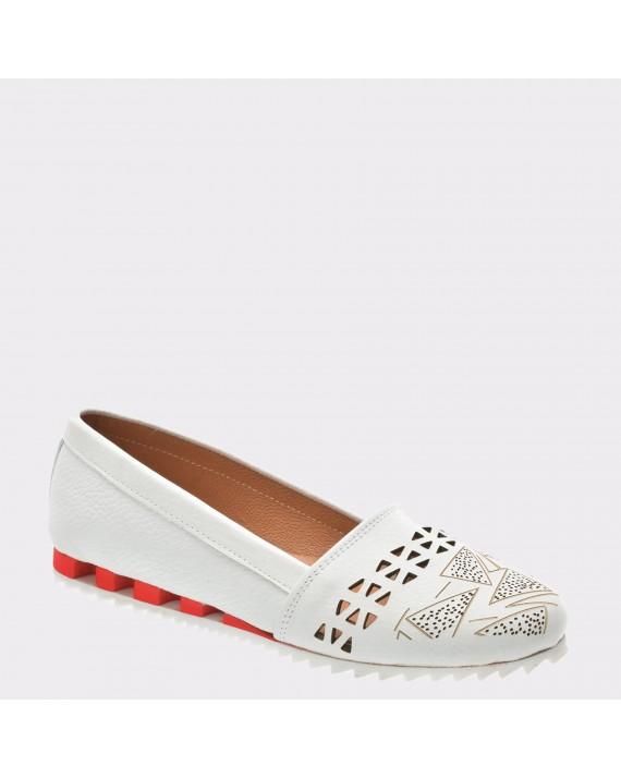 Pantofi FLAVIA PASSINI rosii, 706, din piele naturala