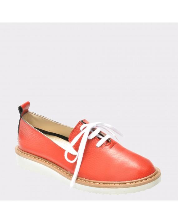 Pantofi FLAVIA PASSINI rosii, 714, din piele naturala