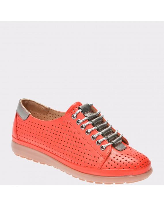 Pantofi FLAVIA PASSINI rosii, Mh1220, din piele naturala