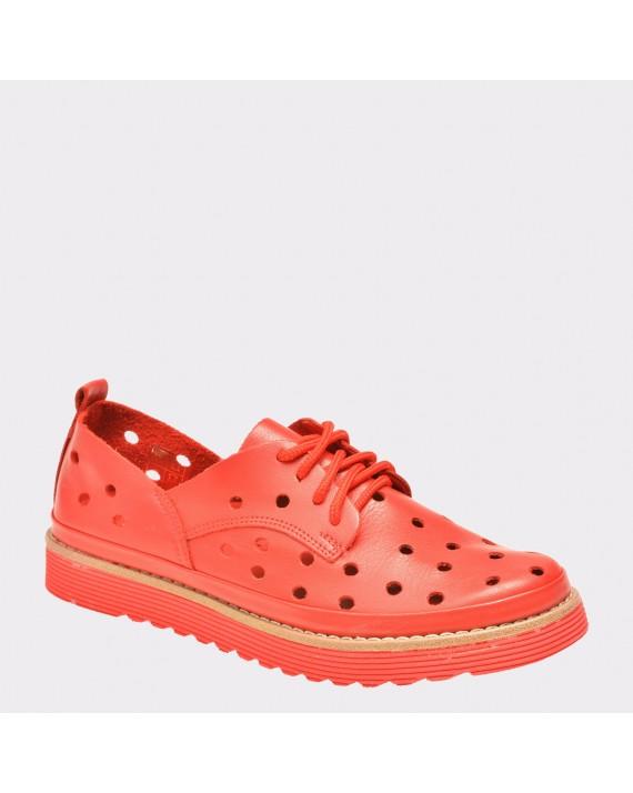 Pantofi FLAVIA PASSINI rosii, Rs51, din piele naturala