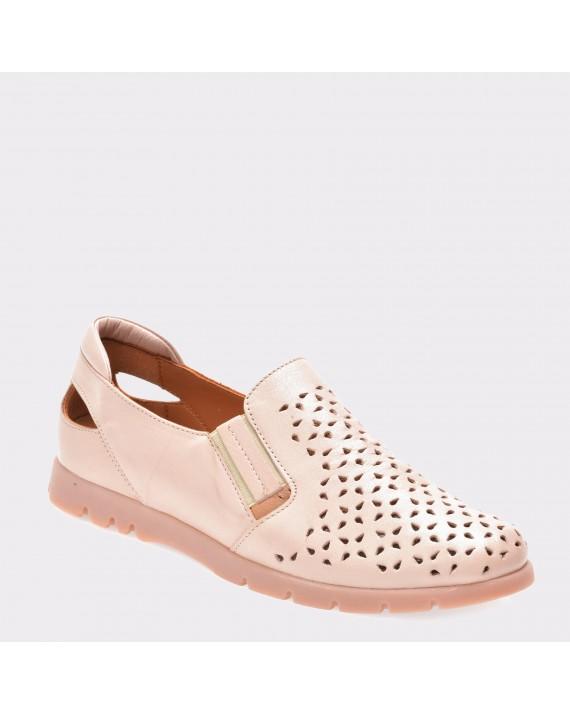 Pantofi FLAVIA PASSINI roz, 14152, din piele naturala