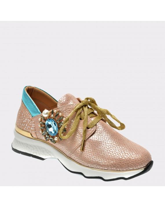 Pantofi FLAVIA PASSINI roz, Gm1135, din piele naturala