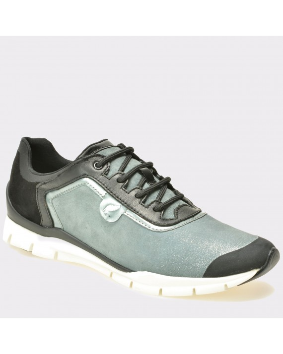 Pantofi GEOX albastri, D62F2B, din piele intoarsa