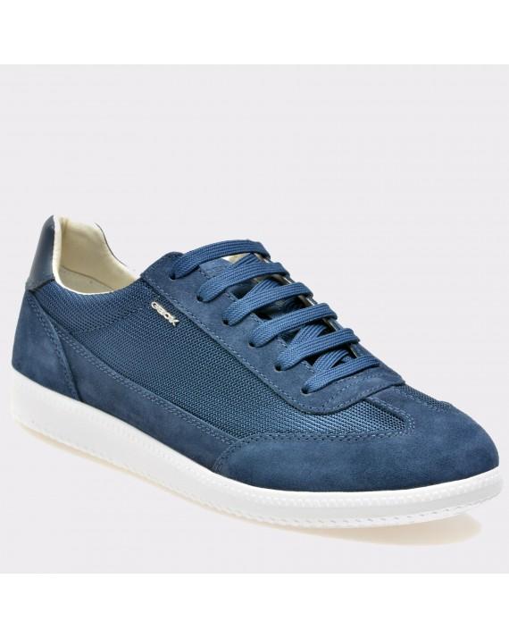 Pantofi GEOX albastri, U824Db, din piele intoarsa