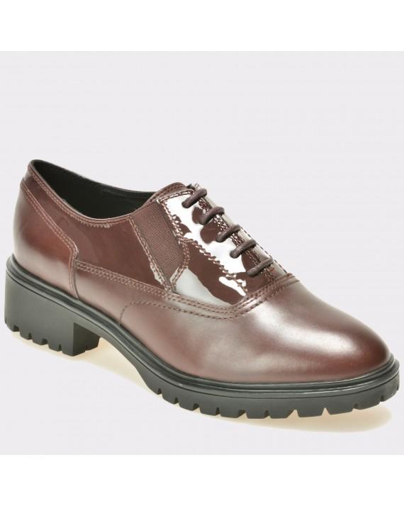 Pantofi GEOX visinii, D640Gh, din piele naturala