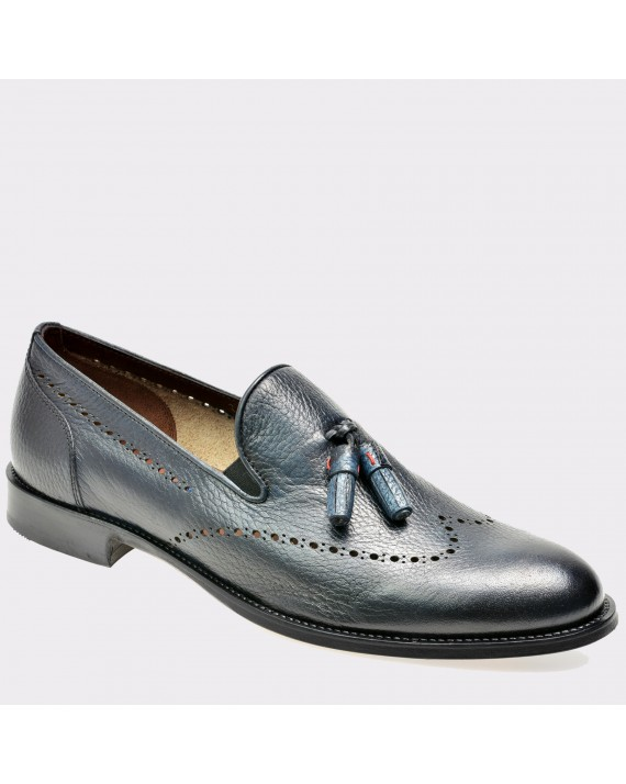 Pantofi LE COLONEL bleumarin, 45202, din piele naturala